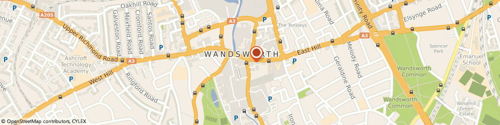 Route/map/directions to HSBC Bank, SW18 2PT London, 73 Wandsworth High Street