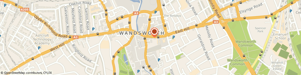 Route/map/directions to LONDON PERFORMANCE CENTRES LTD, SW18 2PT London, 63 Wandsworth High Street