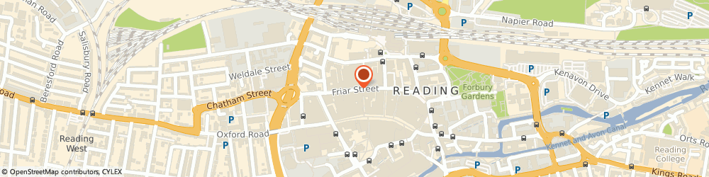 Route/map/directions to Oasis Ltd, RG1 1DX Reading, 39 FRIAR STREET