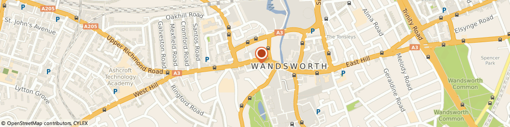 Route/map/directions to British Heart Foundation Furniture & Electrical, SW18 4JB London, 153-155 Wandsworth High Street