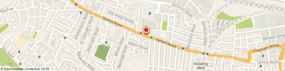 Route/map/directions to Freshleaves Limited, RG30 1HF Reading, 499 OXFORD ROAD