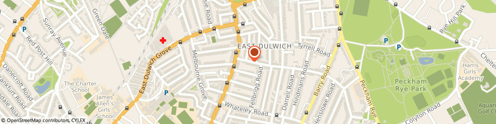 Route/map/directions to Pretty Pregnant-Dulwich, SE22 9ET London, 61 NORTH CROSS ROAD