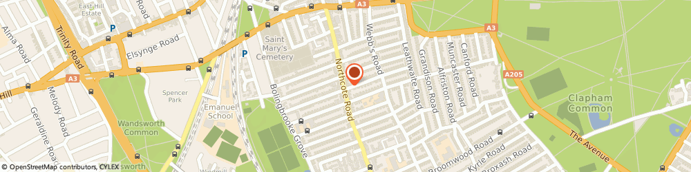 Route/map/directions to Iris Fashion Ltd Battersea, SW11 6PL London, 97 Northcote Rd