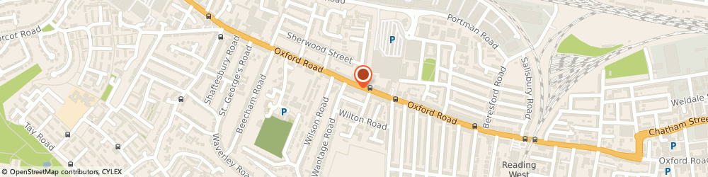 Route/map/directions to Motor Cycle Parts Centre, RG30 1HJ Reading, 527 Oxford Rd