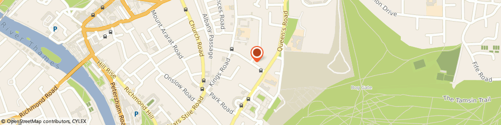 Route/map/directions to Hoolahan Associates, TW10 6HQ Richmond, 25 Marchmont Road