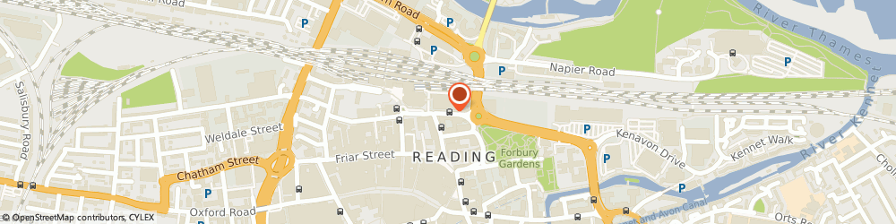 Route/map/directions to Halian, RG1 1SB Reading, 1st floor Tangent House 16, Forbury Rd