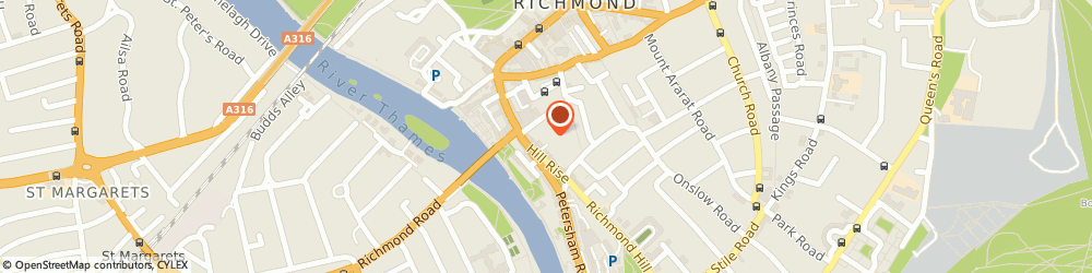 Route/map/directions to Jobson Publishing, TW10 6UD Richmond, JOBSON HOUSE, HOLBROOKE PLACE