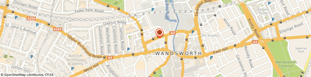 Route/map/directions to Guitar Hospital Ltd, SW18 1BF London, THE ARC, 35 ARMOURY WAY