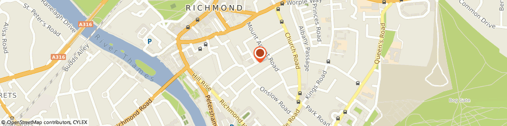 Route/map/directions to Po Chi-Kin Mr, TW10 6PP Richmond, 35 The Vineyard