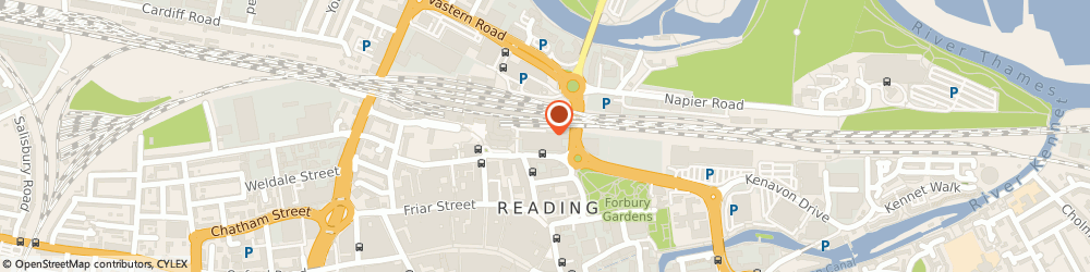 Route/map/directions to Cunningham Lindsey, RG1 1AX Reading, Apex Plaza;Forbury Road