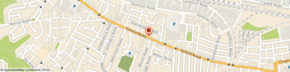 Route/map/directions to Welcome Financial Services, RG30 1EL Reading, OXFORD ROAD