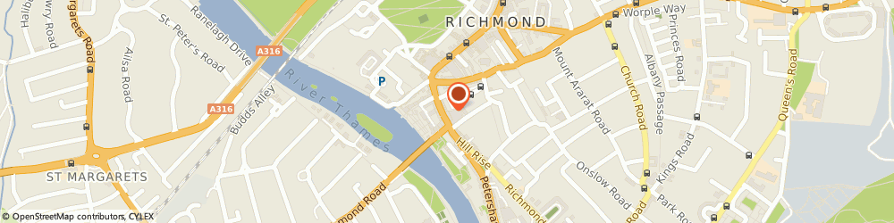Route/map/directions to Fat Face Ltd, TW9 1TW Richmond, 36-38 Hill Street