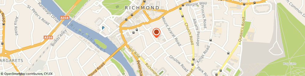 Route/map/directions to 49 Halford Road (Management) Limited, TW10 6AW Richmond, 49 HALFORD ROAD