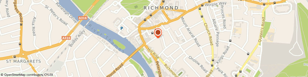 Route/map/directions to Caulder Moore, TW10 6TH Richmond, 24 Ormond Road