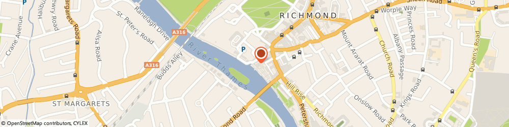 Route/map/directions to Slug & Lettuce Richmond, TW9 1TJ Richmond, Riverside House