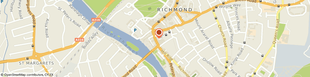 Route/map/directions to Max Mara, TW9 1SX Richmond, 13 Hill Street