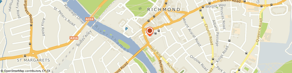 Route/map/directions to Joseph At Richmond Ltd, TW9 1TW Richmond, 28 Hill Street Town Centre
