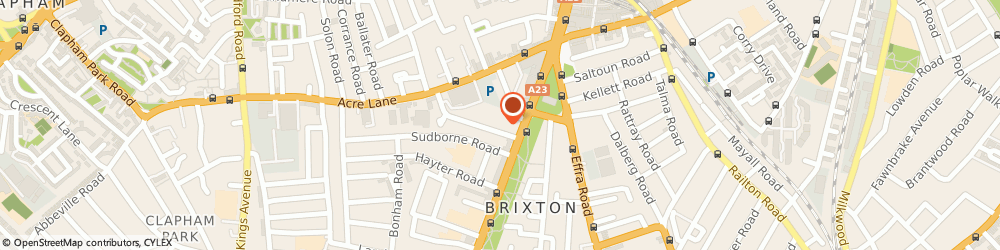 Route/map/directions to KJ CARGO/SHIPPING SERVICES LTD, SW2 1RH London, 5 Arlington Parade Brixton Hill