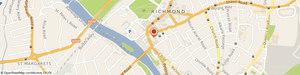 Route/map/directions to Zadig & Voltaire London, TW9 1TW Richmond, 22 Hill Street