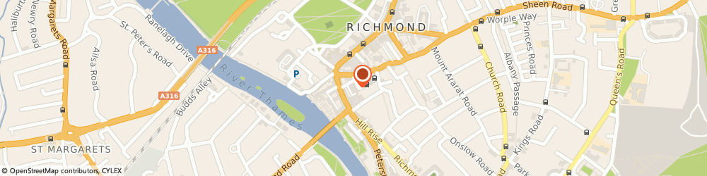 Route/map/directions to Goater Jones Llp, TW10 6TF Richmond, 1 Castle Yard