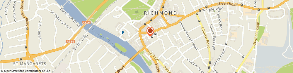Route/map/directions to Moore Blatch Solicitors, L.l.p., TW10 6TF Richmond, 3 Castle Yard, London Court