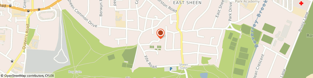 Route/map/directions to Z Car Mini Cabs, W5 2PJ London, 1 The Mall