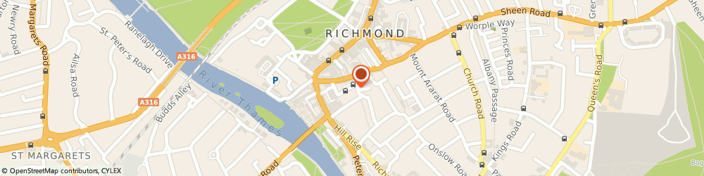Route/map/directions to The Thai Elephant, TW10 6SD Richmond, 1 Wakefield Rd