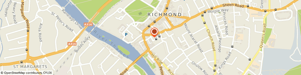Route/map/directions to Money Syner Communications Ltd., TW10 6TF Richmond, 1 CASTLE YARD