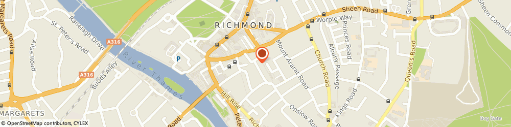 Route/map/directions to Christian Fellowship In Richmond, TW10 6AW Richmond, HALFORD HOUSE, 27 HALFORD ROAD