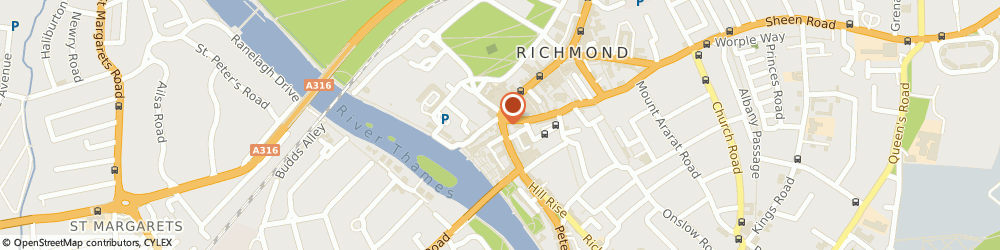 Route/map/directions to Brouge, TW9 1SX Richmond, 5 Hill Street