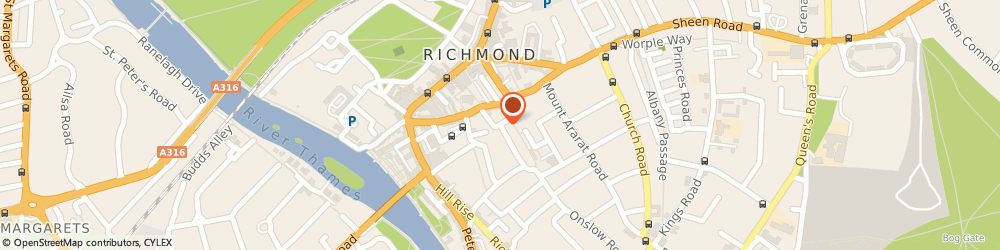 Route/map/directions to Experian Limited, TW10 6AW Richmond, 1-3, HALFORD ROAD