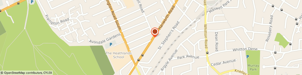 Route/map/directions to Accma Accountants Ltd, TW3 3SQ Hounslow, 359A Hanworth Road