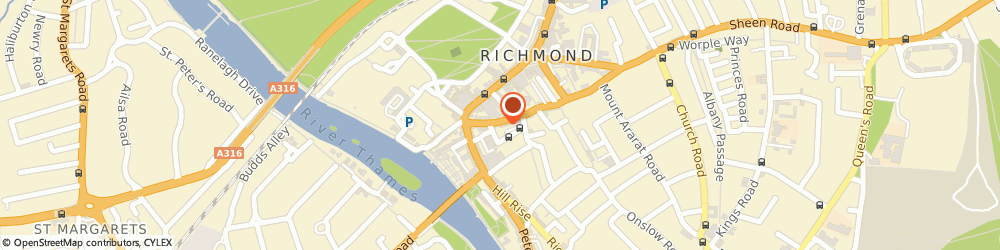 Route/map/directions to Matsuba Limited, TW9 1RW Richmond, 10 Red Lion St