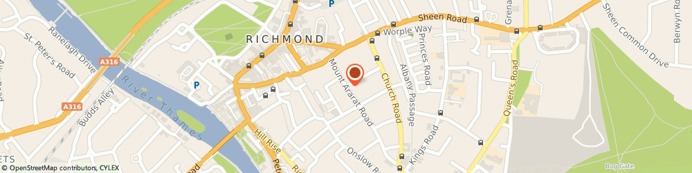 Route/map/directions to Robin Wade, TW10 6PQ Richmond, 11 MOUNT ARARAT ROAD