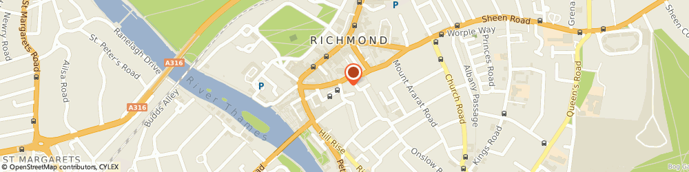 Route/map/directions to The Harmony Tailor, TW10 6SE Richmond, 1 Church Terrace