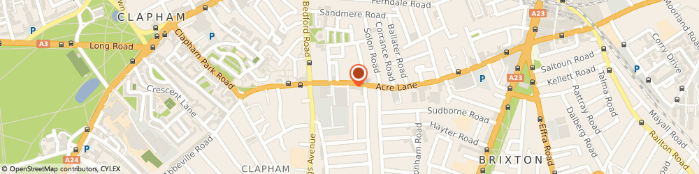 Route/map/directions to Hop & Anchor, SW2 5UA London, 123 Acre Ln