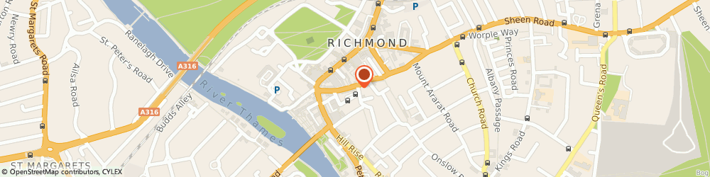 Route/map/directions to House Couturier Limited, TW9 1RB Richmond, 30 Red Lion St