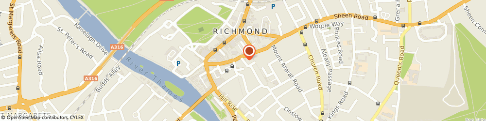 Route/map/directions to INDAGATE GROUP LTD, TW10 6AW Richmond, Halford Chambers 1-3 Halford Road