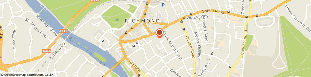 Route/map/directions to E Y C LIMITED, TW9 1SQ Richmond, Ambassador House Paradise Road