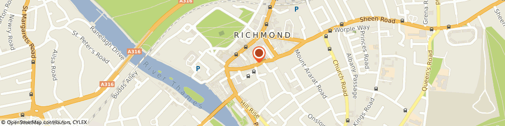 Route/map/directions to The Forge Clinic, TW9 1RJ Richmond, 37 Red Lion Street