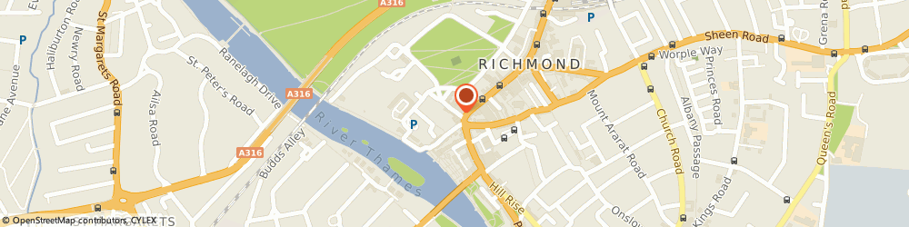 Route/map/directions to HypnosisLondonClinic, TW9 1ND Richmond, 9 King Street