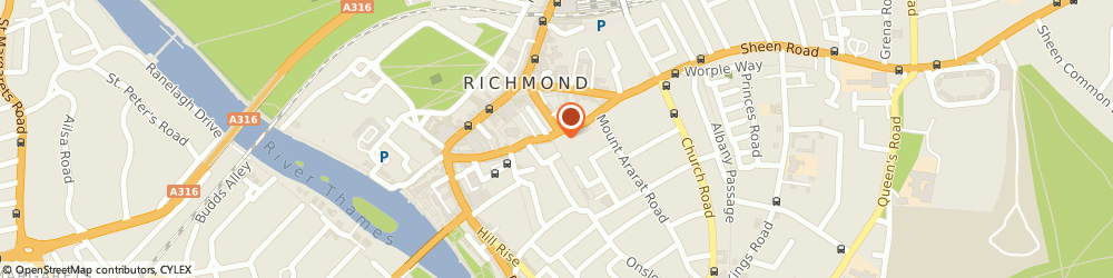 Route/map/directions to Barreworks, TW9 1SA Richmond, 21 Paradise Rd