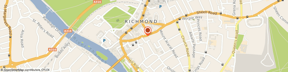 Route/map/directions to Richmond Locksmiths, TW9 1SA Richmond, 16-20 Paradise Rd