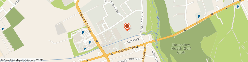 Route/map/directions to Tlc Auto Refinishing, TW14 0XJ Feltham, BUILDING 11, FALCON WAY, NORTH FELTHAM TRADING ESTATE