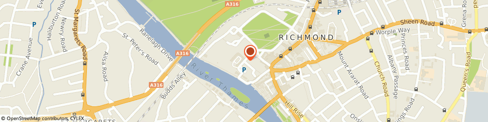 Route/map/directions to Anytime Locksmiths - Richmond, TW9 1NU Richmond, Queensberry House, Friars Ln