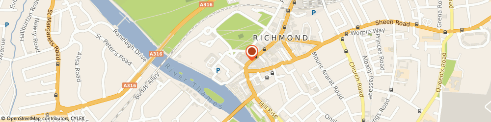 Route/map/directions to Paperchase, TW9 1HA Richmond, 80 George Street