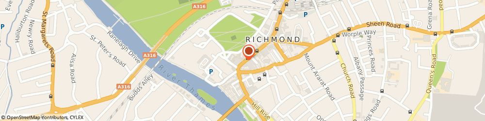 Route/map/directions to Clarks shoes from - Bowleys Richmond RICHMOND, TW9 1HE Richmond, 72/73 George Street