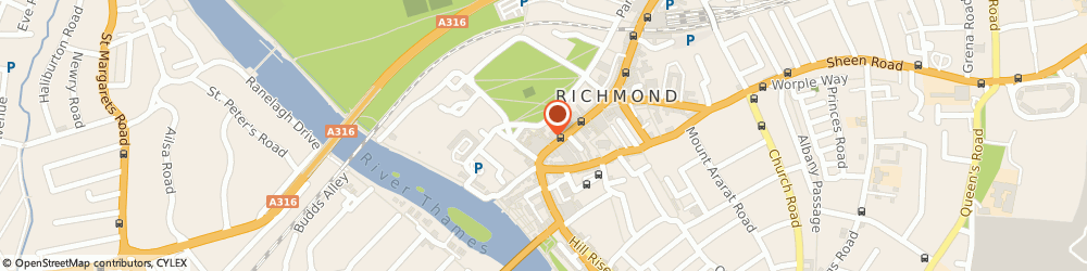 Route/map/directions to Central Contract Fixing Limited, TW9 1EU Richmond, 1 GOLDEN COURT