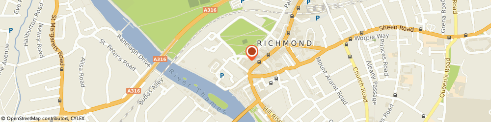 Route/map/directions to Chango, TW9 1LX Richmond, 3 Paved Court