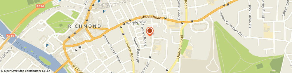 Route/map/directions to LJB Heating & Plumbing, TW10 6DH Richmond, Clapham Richmond Tw10 6Dh